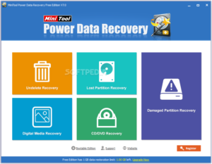 Minitool Power Data Recovery Crack For Windows 32 & 64 Bit
